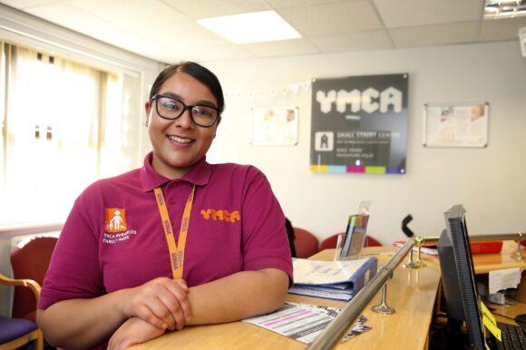 YMCA worker